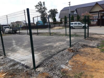 Забор для школы Тамбов