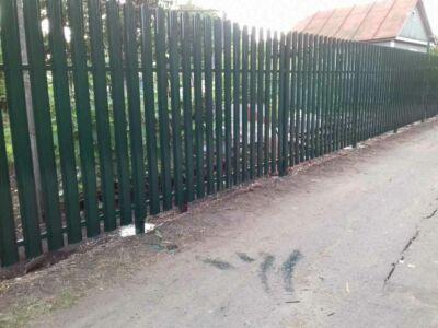 Забор в Котовске