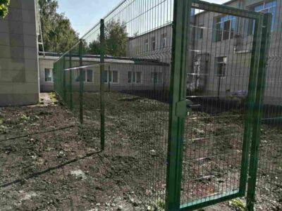 забор для детского сада