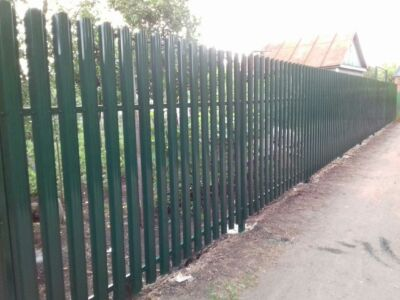 Забор для дачи в Котовске