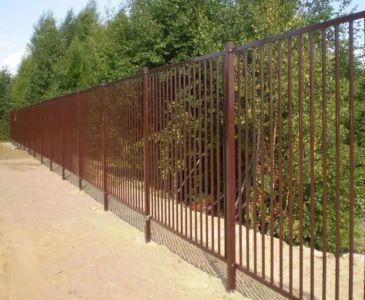 Забор дачный