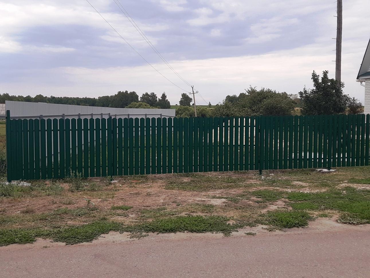 Забор в Стрельцах