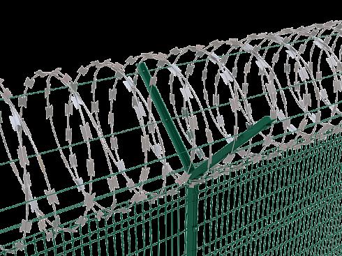Забор колючка