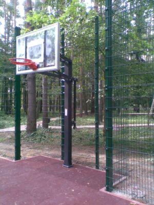 Забор для спортплощадки