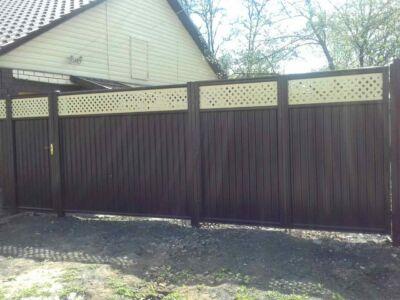 Модульный забор с установкой