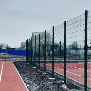 Забор для баскетбольной площадки
