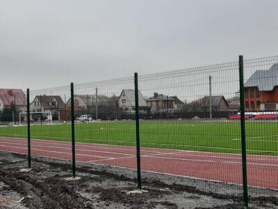 Ограждение стадиона Новоникольское