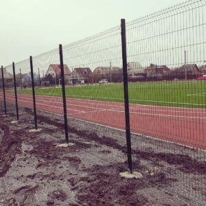 Спортплощадка забор