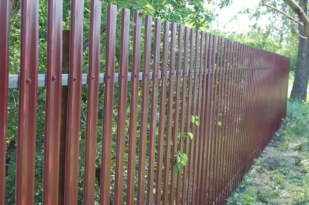 Забор дача